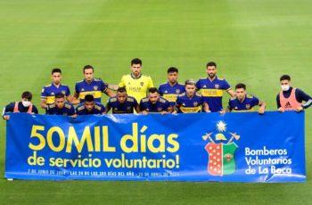 Homenaje en la cancha de Boca Juniors