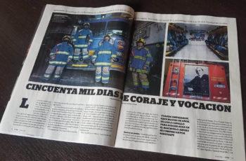 Bomberos de La Boca en Revista VIVA!