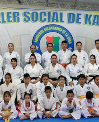 Taller social de Karate